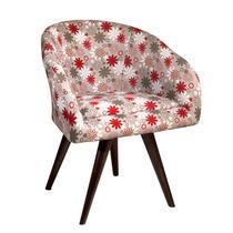 Cadeira Poltrona Decorativa Pé Palito Ou Base Giratória Ares