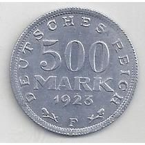 Alemania - Deutsche Reich - 500 Mark - 1923 - Sin Circular