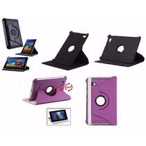 Capa Samsung Roxo Para Tablet 7.7 P6800 P6810 Giro 360º