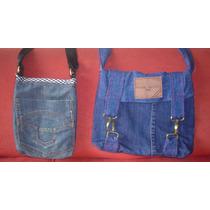 Carteras De Blue Jean (bolso Bandolero)
