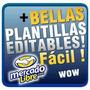Plantillas Editables Mercado Libre Mirá!! 14x1 Interactivas!