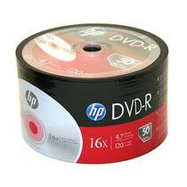 Dvd-r Hp 4.7gb 16x Oferta X50 Unidades