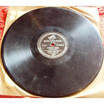 724 Mvd- Lp Disco 78 Rpm- 1953 Nelson Gonçalves Samba Cançao