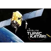 Kit Tupac Katari Fta Satelital Antena Parabolica Tv Bolivia