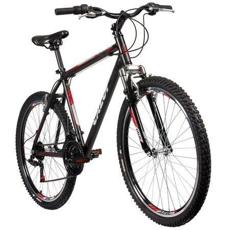 Bicicleta Caloi Aluminum Sport Aro 26 Mtb Preta 21 Marchas - R  789 ... 5bd6f11e38cb5