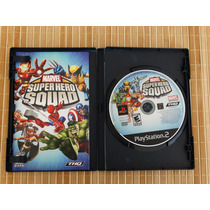 Marvel Super Hero Squad Ps2 Sony Playstation 2