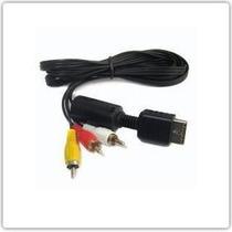 Cable Rca Audio Y Video Playstation Ps1 Ps2 Nuevo