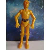 Boneco Action Figures Articulado 14 Cm Star Wars C-3po