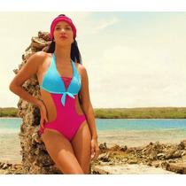 Traje De Baño Fashion Sol Trikini Dama Lycra Hd Proteccionuv