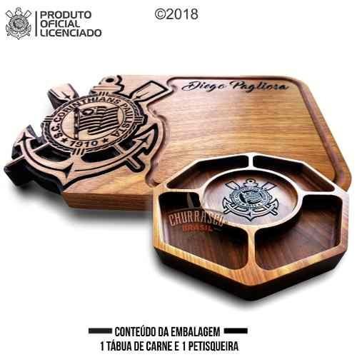 Tabua De Carne Para Churrasco Corinthians - R  229 aab5056ddbe50