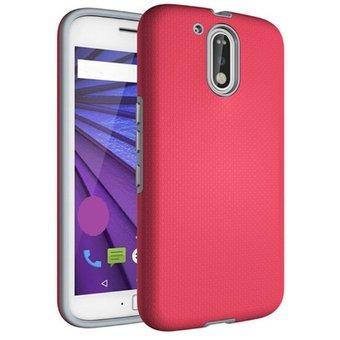 b141056c1 Estuche Protector Antichoque Motorola Moto G4 Plus - Rosado -   50.260 en  Mercado Libre