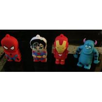 Memorias Usb Super Heroes Y Pixar!! Figuras 4gb Anti Impacto