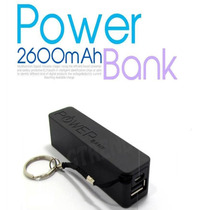 Bateria Power Bank Recargable 2600 Mah Pza.