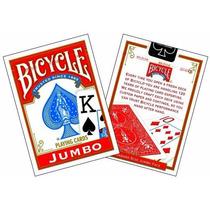 Mágica Baralho Invisivel Bicycle Vermelha +frete Fixo 10,00