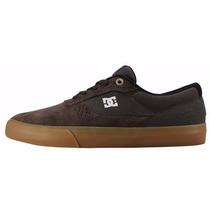 Tênis Dc Shoes Masculino Feminino Marrom Original Camurça Nf
