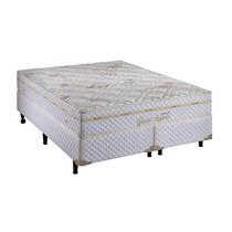 Conjunto Cama Box Colchão Casal Queen Size Grand Support Eco