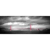 Lienzo Tela Fotografía Color Aislado Puente Golden Gate