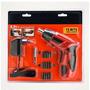 Kit Parafusadeira A Bateria 4.8v Black And Decker Com Kit De