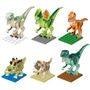 Set De Dinosaurios De Jurassic World Compatible Con Lego