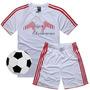 Moldes Patrones Camiseta Y Short Futbol Hombres S M L Xl