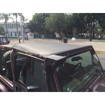 Bikini Lona Jeep Y Windshield Channel Tj