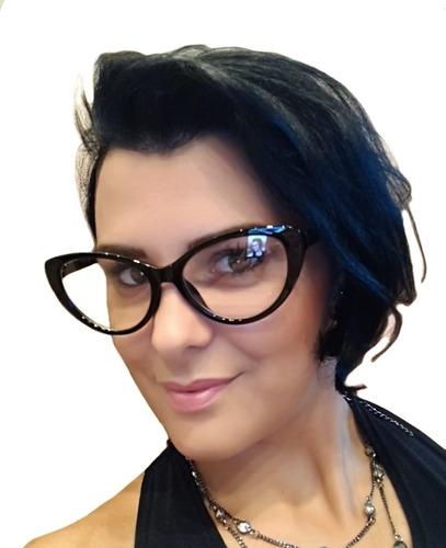 ced0c1d0d Armação Feminina Óculos Grau Feminino Retro Gatinho Cat Eye - R$ 29 ...