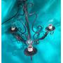 Lámpara Colgante En Hierro - Tres Luces