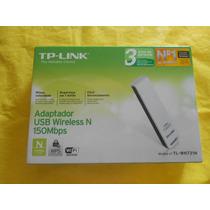 Adaptador Usb Wireless Tp-link Tl-wn721n 150 Mbps- Defeito