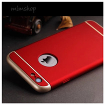 Funda Iphone 6/6s/6 Plus 3 En 1 Luxury Soft Ultra Delgada