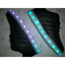 Zapatillas Luces Led 11 Colores/ritmo Usb Oferta Lanzamiento