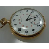 Relógio De Bolso High Life Precision Ouro18k Promoção Jr