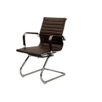 Cadeira P/ Escritório Diretor Charles Eames Fixa Marrom Café