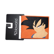 Billetera Dragon Ball Goku Hombre Bioworld Nueva Importado