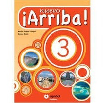 Livro Nuevo Arriba! 3 Santillana Español Com Cd