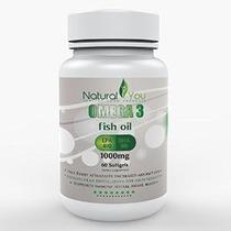 Omega 3 Aceite De Pescado Para Una Mejor Salud - 100% Riesgo
