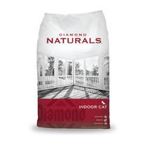 Diamond Indoor Gato Hairball Naturals - Bulto 18 Lbs