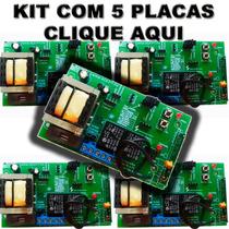 Kit 5 Placas Para Motor Modelo Universal Ppa Rossi Garen