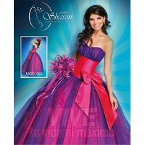 Vestido Xv Años, Original Diseños Sharon