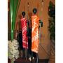 Esculturas Africanos Africa Africanas Tribu Baile Caza