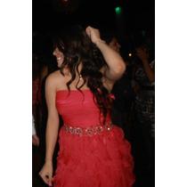 Vestido De Graduación Rosa - Diseño Único (de $6000 A $3900)
