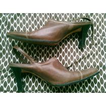 Zapatos Suecos Cuero Nacional Cualquier Cosita