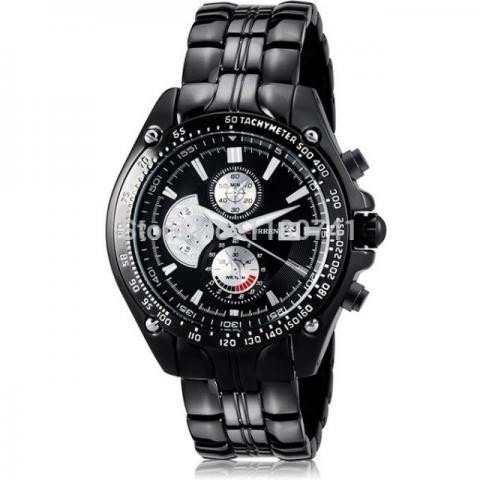 3892bc9b8dc Relógio Masculino Curren Luxo Modelo 8083 - R  150