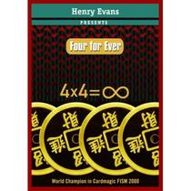 Cuatro Para Siempre (con Dvd) Por Henry Evans