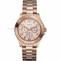 Reloj Guess Ladies Rose Gold Tone W0231l4 | Watchito