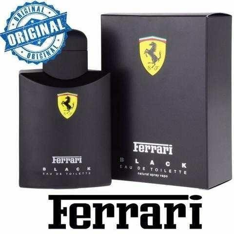 1885e2b34 Perfume Ferrari Scuderia Black 125ml 100% Original Lacrado - R  105 ...