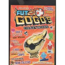 Álbum Figurinhas Fut Gogos Crazy Bones 18 Coladas D5