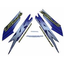 Kit Adesivos Honda Xr 250 Tornado 2001 2002 Azul