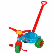 Motoca Tico Tico Palhacito Com Haste Original - Magic Toys