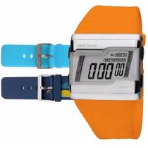 Relógio Mormaii Digital Kit Troca Pulseira Fz/n8z Original