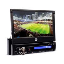 Dvd Player Dazz Dz-5220bt-dtv Tela 7¿ Retrátil Tv Digital